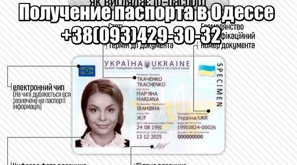 Получение паспорта в Одессе