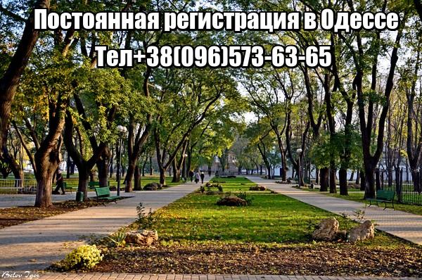 Постоянная регистрация в Одессе